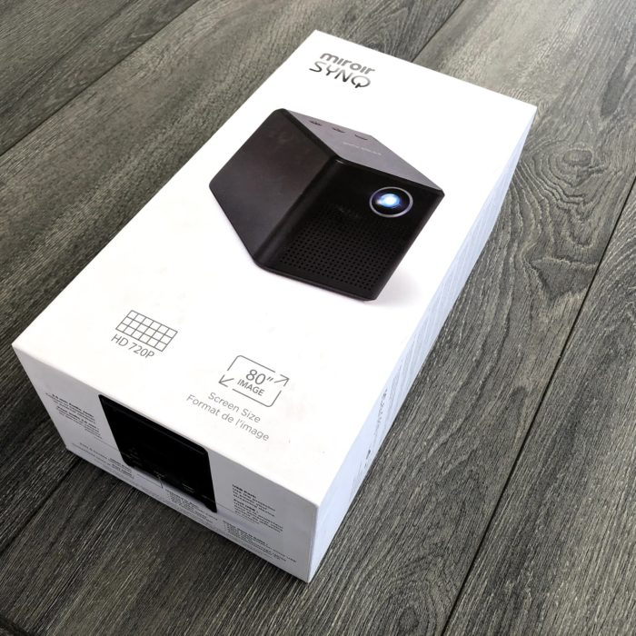 Miroir SYNQ M189 HD Projector Review