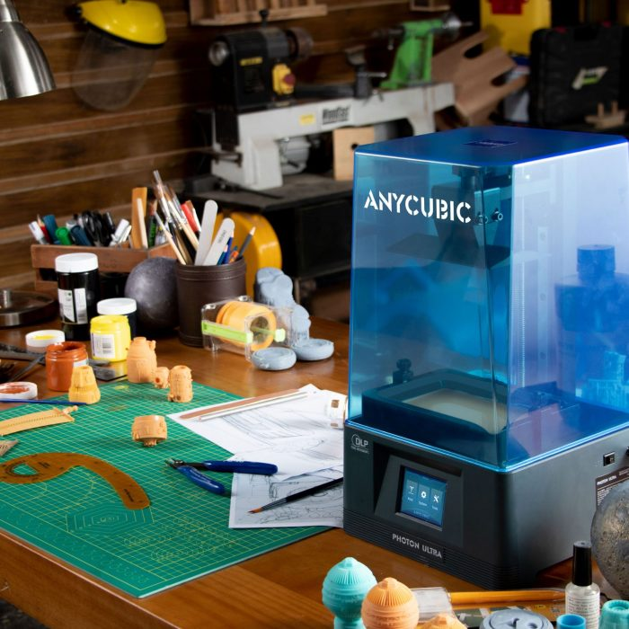Anycubic Announces Upcoming Kickstarter Campaign for New Photon Ultra DLP 3D Printer.