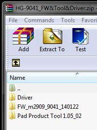 Haier HG-9041 Firmware Update Instruction