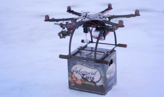 lakemaid-beer-drone-delivery
