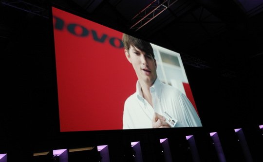 Lenovo and Kutcher